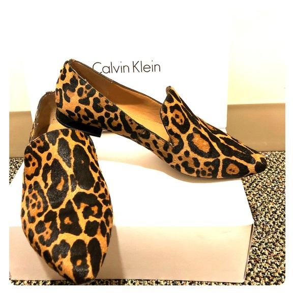 Calvin Klein Leopard Elin Pointedtoe